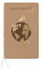 Faire-part de naissance passeport 610040F