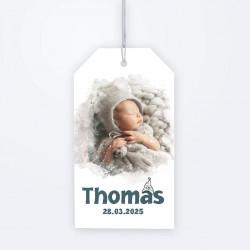 Etiquette perforée lutin Thomas