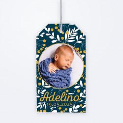 Etiquette perforée  Liberty Adelino