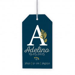 Etiquette perforée Adelino