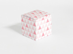 Boîte à dragées Flamingo rose
