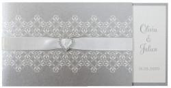 Faire-part de mariage Shining silver 724027F
