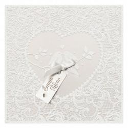 Faire-part de mariage - Mariage élégant 728008F