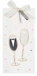 Faire-part de mariage - Champagne 728013F