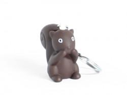 Porte-clé écureuil chocolat