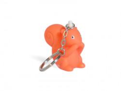 Porte-clé écureuil orange
