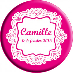 Badge « Camille »