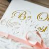 Faire-part mariage raffiné en découpe laser WPL0027