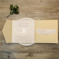 Faire-part mariage modèle pockart WPFD2118