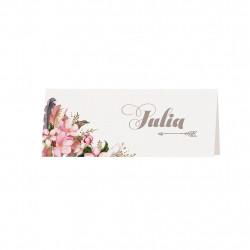 Marque-place - Aquarelle de fleurs 728705F