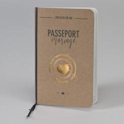Faire-part mariage le passeport de l'amour 108.047