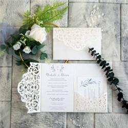 Faire-part mariage branche d'olivier