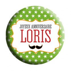 Badge Loris