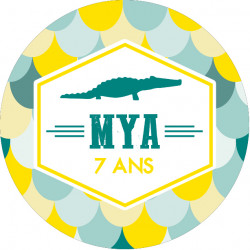 Badge crocodile Mya