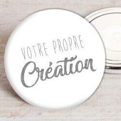 Badge aimant 50 mm 100% personnalisable