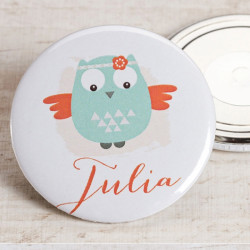 Badge fille indienne