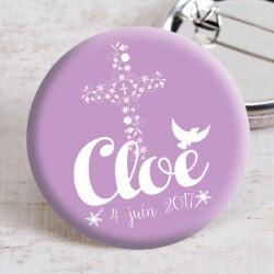 Badge communion Cloé
