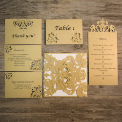 Cartes assorties au faire-part WPL0002