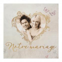 726046BF Faire-part de mariage couple romantique