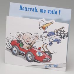 Faire-part de naissance Bébé champion de F1 715055