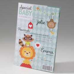 Faire-part de naissance Baby magazine 715072