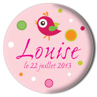 Badge Louise